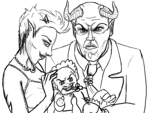 devils_family_portrait_by_linnso-d4z4yqj